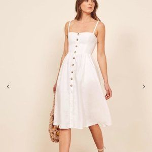 Reformation Tori Linen Dress